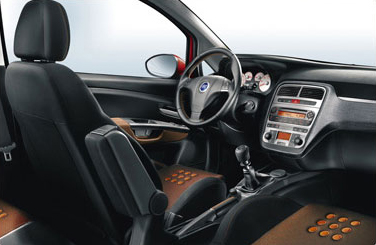 General leather cloth interior page 2 the fiat forum for Fiat grande punto interieur