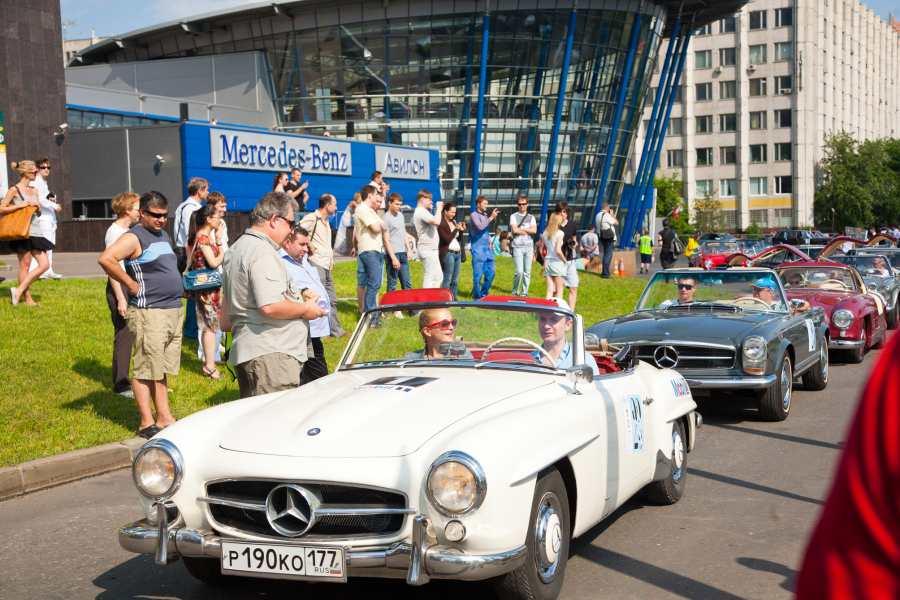 »АВИЛОН» открыл Mercedes-Benz…