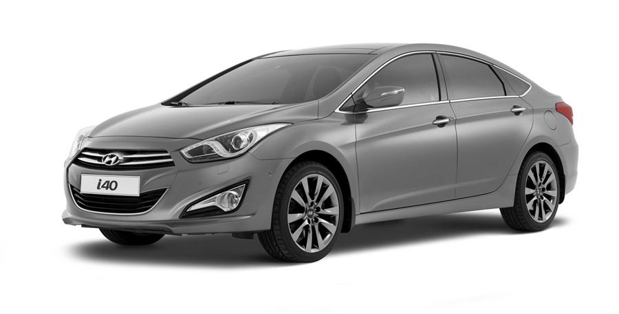 Новый седан Hyundai i40 совс…